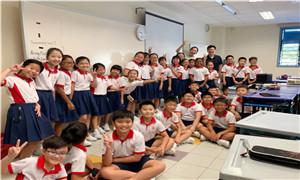 實小西區教師再赴獅城 傳播中華文化