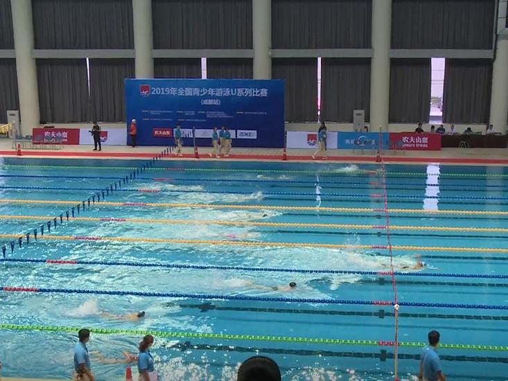 热度空前 2019年全国青少年游泳U系列比赛(成都站)开赛