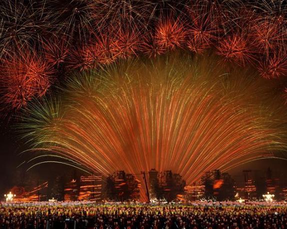 天安门国庆70周年联欢活动 创下多项纪录