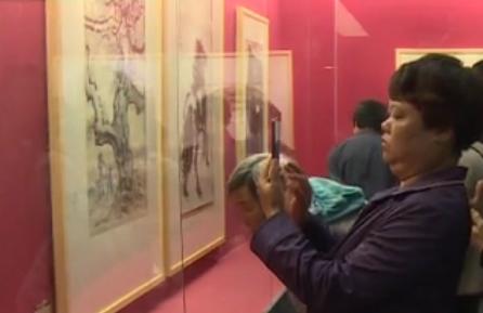 近距离欣赏名作 中国书画大家的作品齐聚武侯祠美术馆