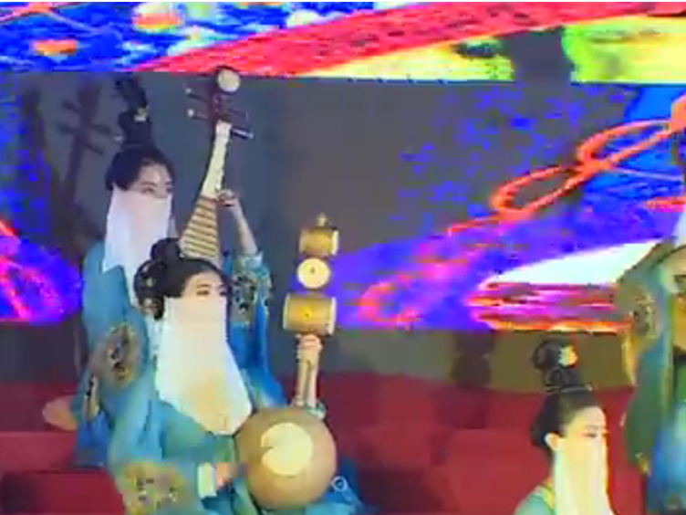 赏二十四伎乐,一起玩转幸运分分彩最具艺术范儿音乐街区!