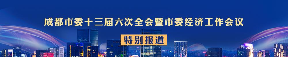 成都市委十三届六次全会暨市委经济工作会议特别报道