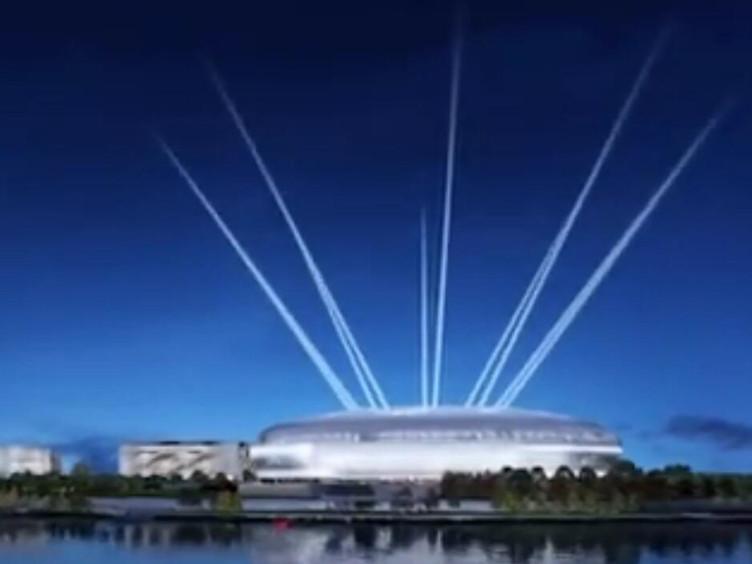 """""""飞碟""""""""神鸟""""齐飞 东安湖体育场进入钢结构施工"""