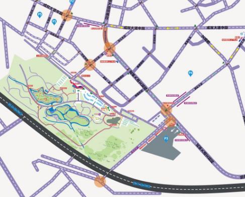 注意!2020年天府芙蓉园国际灯彩节周边道路临时交通管理措施出炉