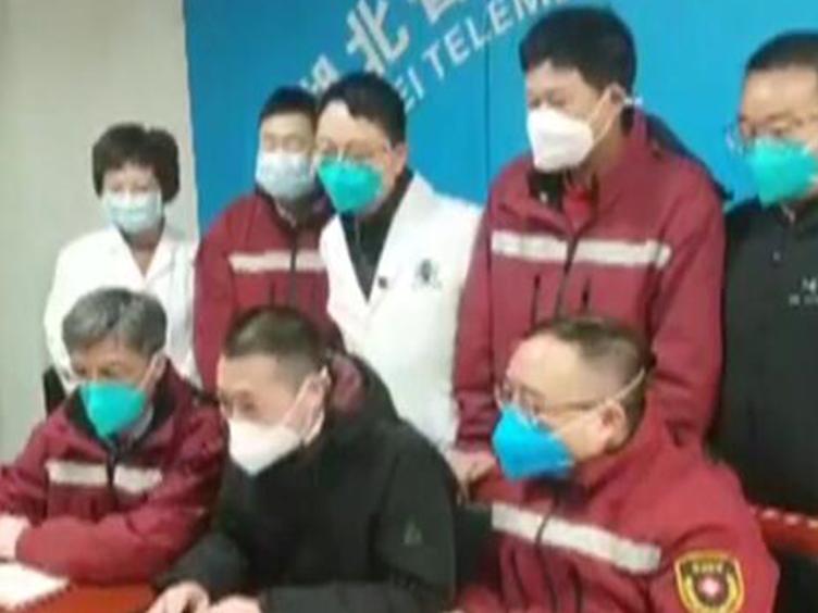 <font color=red>尹力</font>省长与四川援鄂医疗远程连线 期待救援队凯旋