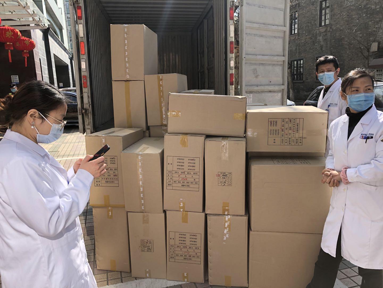 阿里巴巴境外采购口罩正陆续送入9家医院 连夜为武汉协和医院速递医疗物资