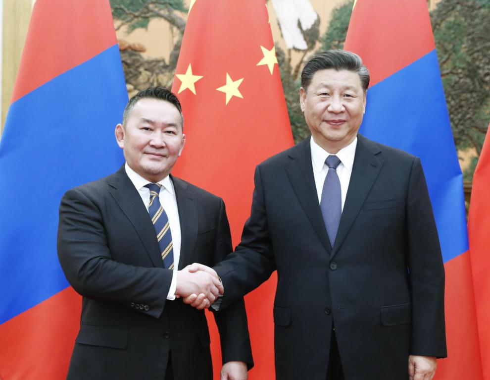 蒙古国向中国赠送30000只羊