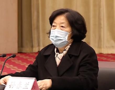 """孙春兰副总理说,一线媒体记者都是""""抗疫英雄"""""""