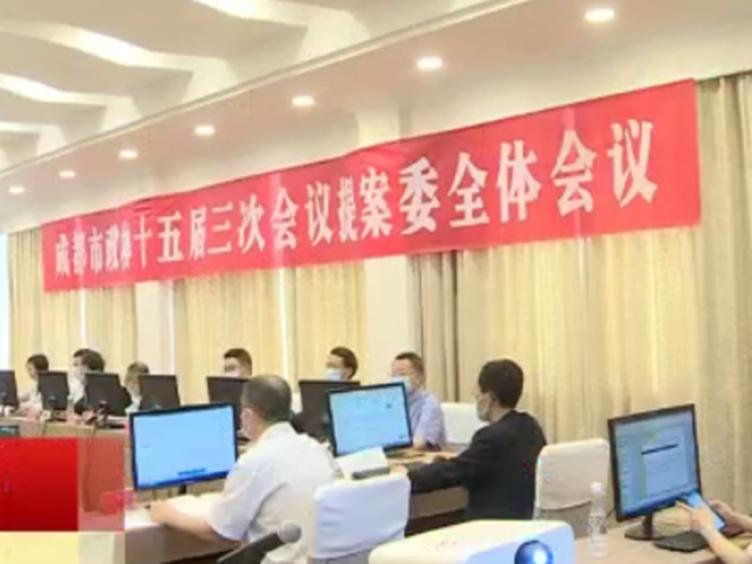 成都市<font color=red>政协</font>十五届三次会议提案委员会召开第一次会议