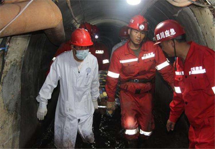 绵阳市引水工程隧道垮塌被困3人全部获救