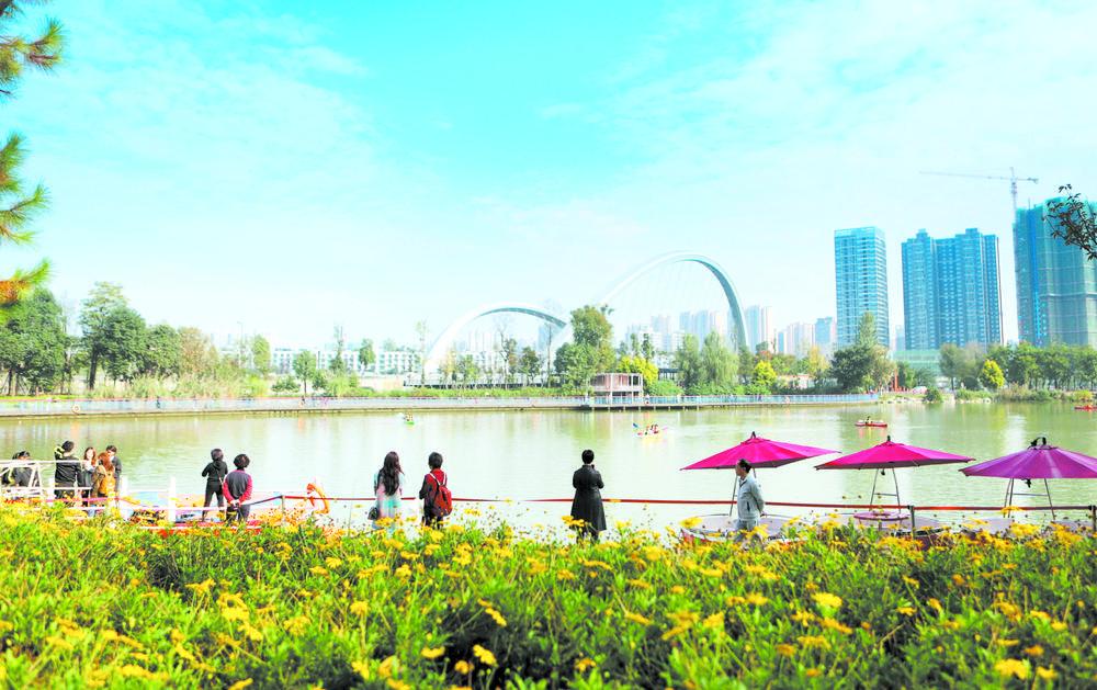 在低碳日看公园城市的底色