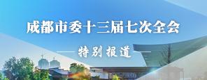 成都市委十三届七次全会特别报道