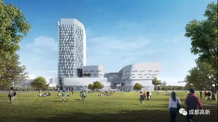 美术馆、文化中心、酒店……交子<font color=red>公园</font>商圈又一新地标即将亮相