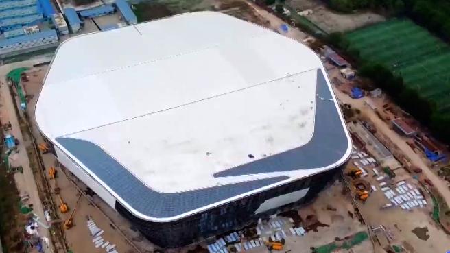 大运快讯 | 高新区体育中心预计年底完工亮相