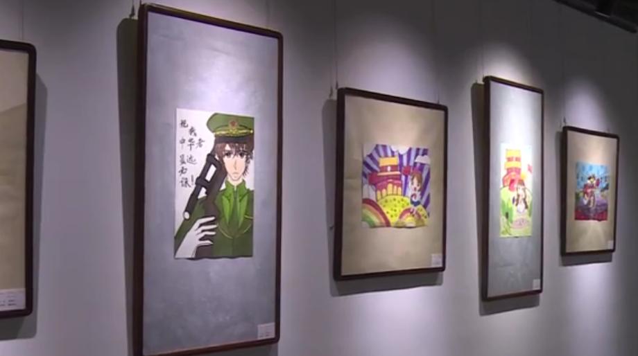 庆国庆迎中秋 郫都区庆祝建国71周年书画展今天开展