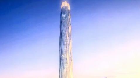 总投资120亿 高达468米! 成都第一高楼全球招商