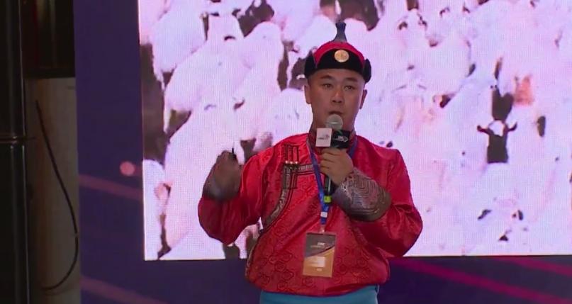 """蒙古族主播:短视频+直播 把贫困山区的山货变成""""网红"""""""