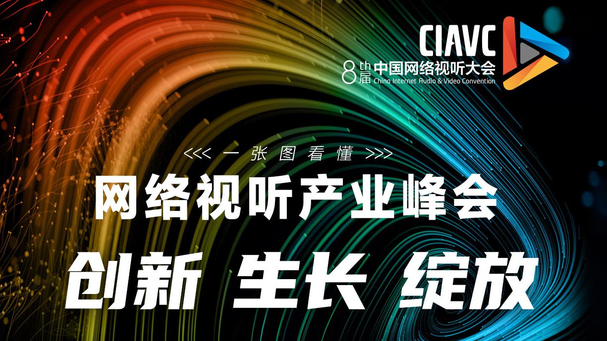 """马东、薛兆丰、江疏影 一张图带你读懂""""网络视听产业峰会""""上半场"""