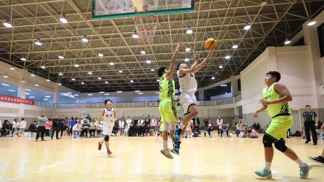 选拔优秀后备人才 青少年三人篮球赛落幕