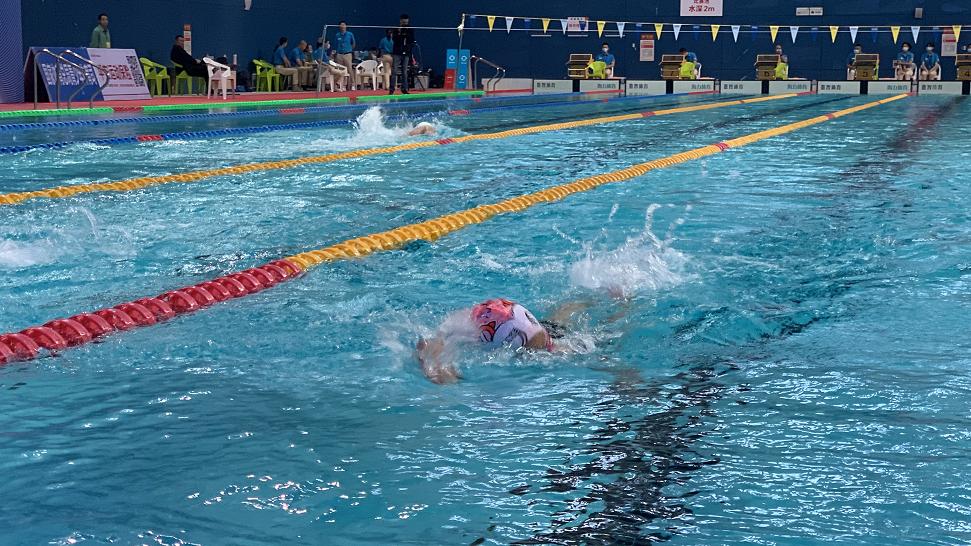 全国体校U系列游泳锦标赛在蓉举行