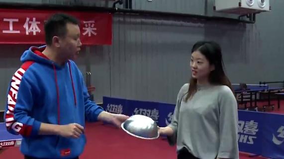 约会青春 | 大运会比赛项目体验——乒乓球(二)