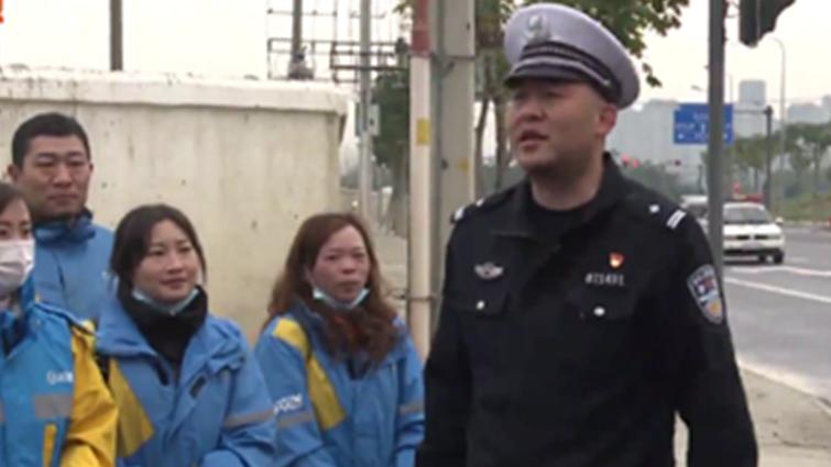"""今天,成都交警组织了一场职业""""变形记""""......"""