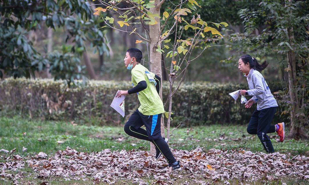 奔跑吧 少年!四川省青少年定向越野比赛开赛