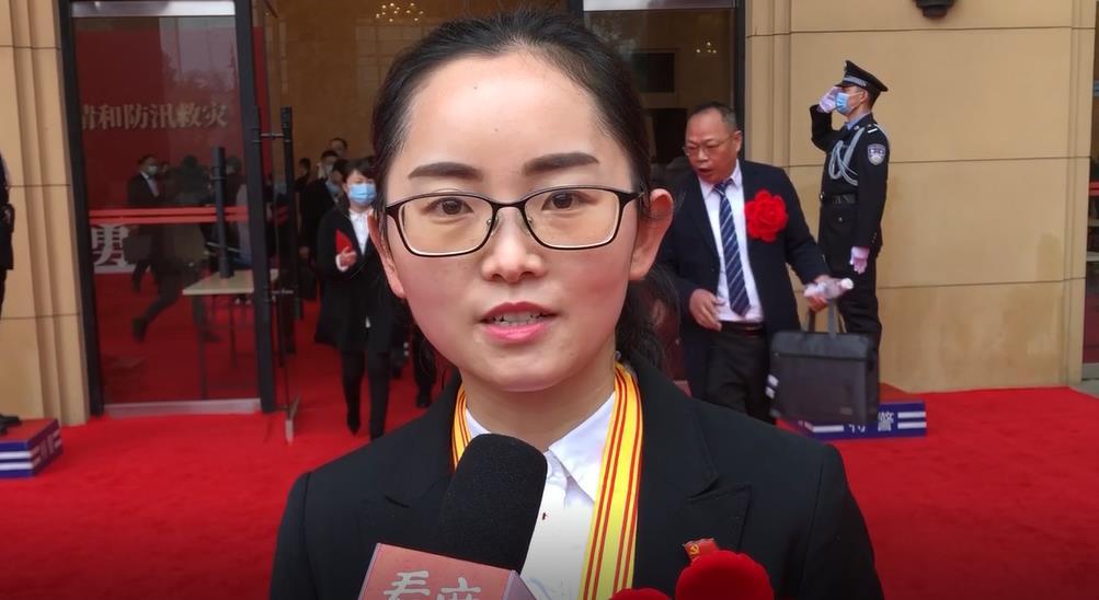 英雄心声⑧丨温爱玲:获奖离不开疾控中心团队努力 将更加努力做好抗疫工作
