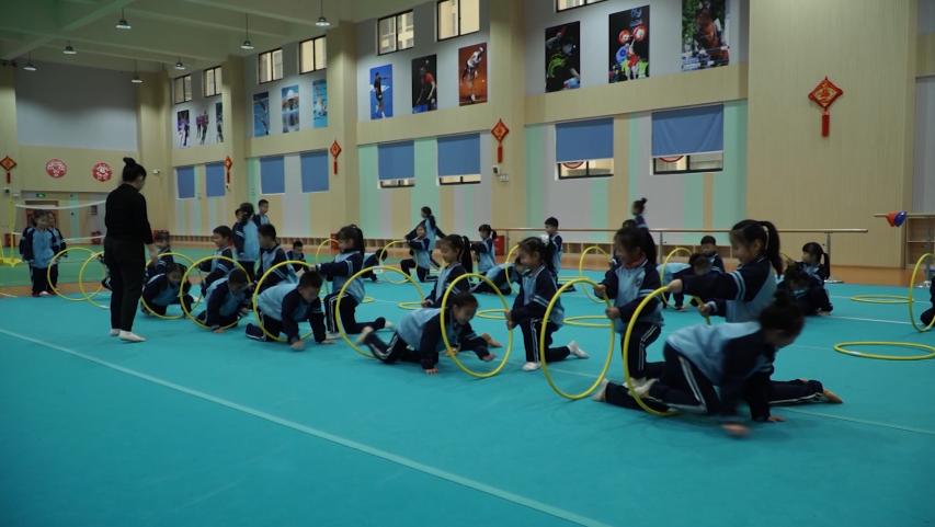 《运动吧!同学们》第六期: 来体操特色校—茶店子小学上节体育课吧