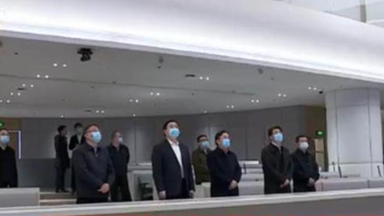 王凤朝率队开展总河长巡河暨推进锦江水生态治理现场办公