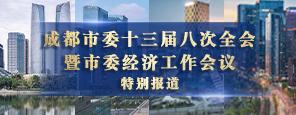 成都市委十三届八次全会暨市委经济工作会议特别报道