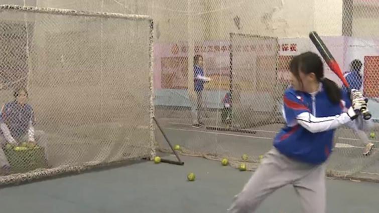 约会青春 | 走进石室天府中学 领略垒球的青春魅力(一)