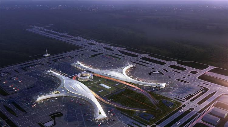 全国媒体看成都⑥丨央视关注!近6分钟直播,揭秘天府国际机场最新进展
