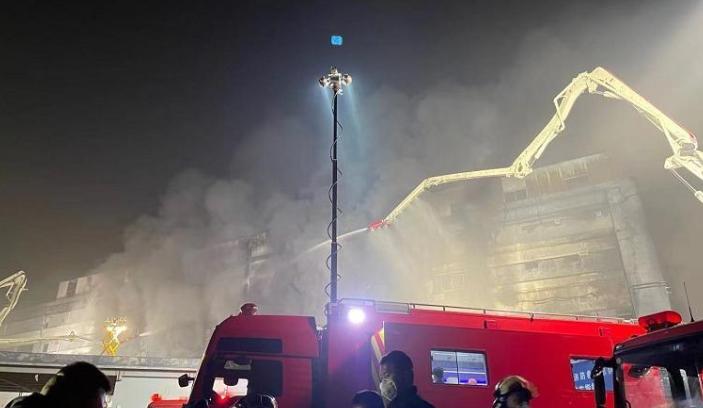 上海金山区企业厂房明火已扑灭  8名失联人员确认遇难