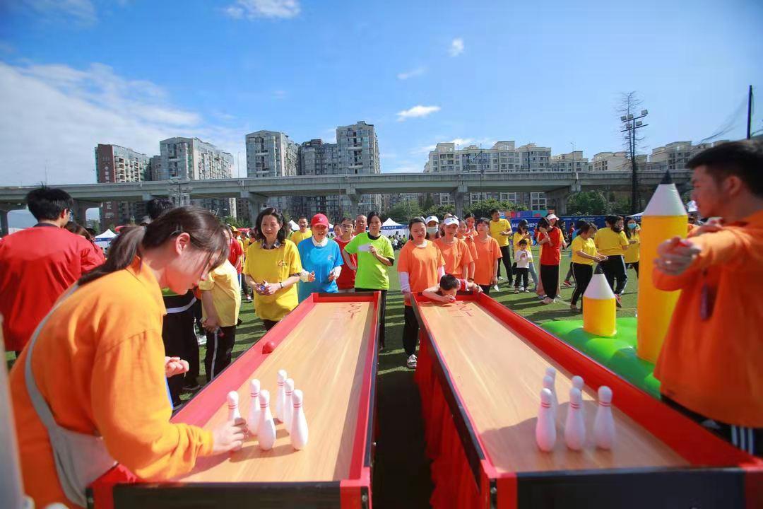 助力幸福美好生活丨成都高新区举行趣味运动会暨全民健身嘉年华活动