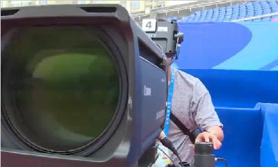 大运时间丨田径赛进行赛前联调 超高速摄像机已就位