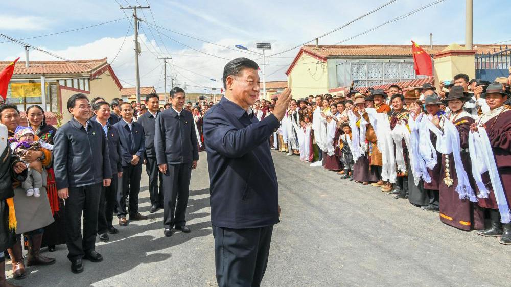 习近平:深入推进青藏高原生态保护和高质量发展