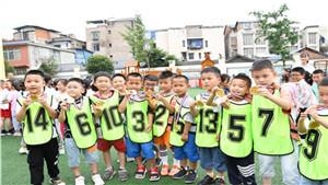 奔跑吧,足球小将!渔桥幼儿园足球活动精彩十足