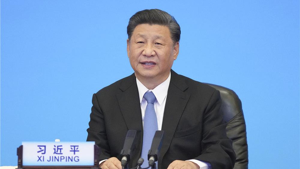 習近平出席中國共產黨與世界政黨領導人峰會并發表主旨講話