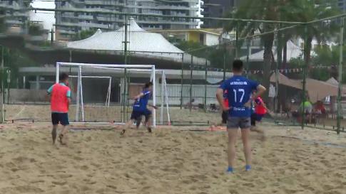 炎炎夏日 来场沙滩足球赛吧!