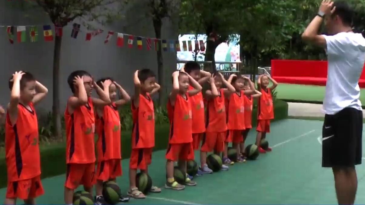 """大运时间丨幼儿园迎开学季 增强体质从""""玩转篮球""""开始"""