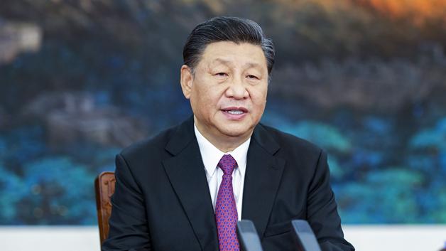 习近平同塔吉克斯坦总统拉赫蒙通电话