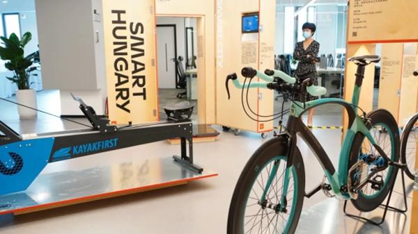 没链条的自行车、测心电图的T恤……天府新区展出黑科技