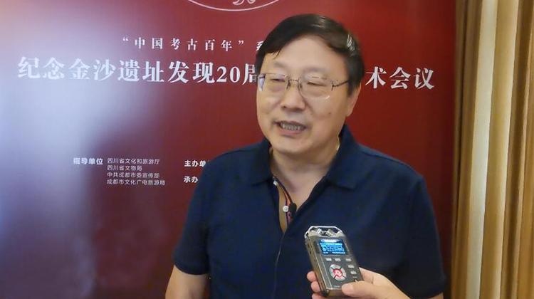 中国考古学会理事长王巍:三星堆和金沙文化引人入胜 引人深思