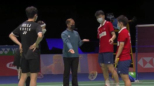 中國隊3-0橫掃韓國隊,晉級蘇迪曼杯決賽!